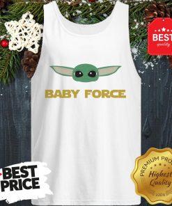 Baby Yoda Force Star Wars A Good Tank Top