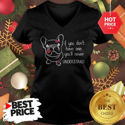 Cute If You Don't Have One You'll Never Understand French Bulldog V-Neck