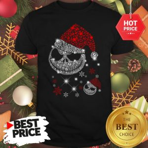 Diamond Santa Claus Skull Christmas Funny Shirt