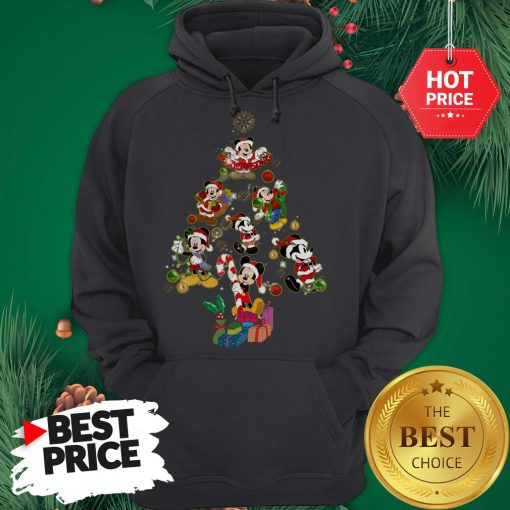 Mickey Mouse Christmas Tree Hoodie