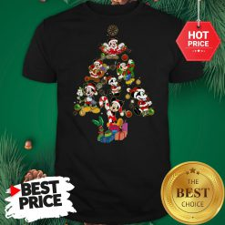 Mickey Mouse Christmas Tree Shirt