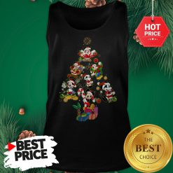 Mickey Mouse Christmas Tree Tank Top