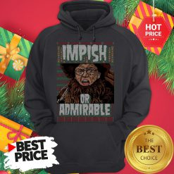 Official Belsnickel I Am Nigh Impish Or Admirable Cheer Christmas Ugly Hoodie