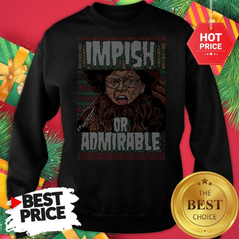 Official Belsnickel I Am Nigh Impish Or Admirable Cheer Christmas Ugly Sweatshirt