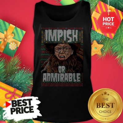 Official Belsnickel I Am Nigh Impish Or Admirable Cheer Christmas Ugly Tank Top