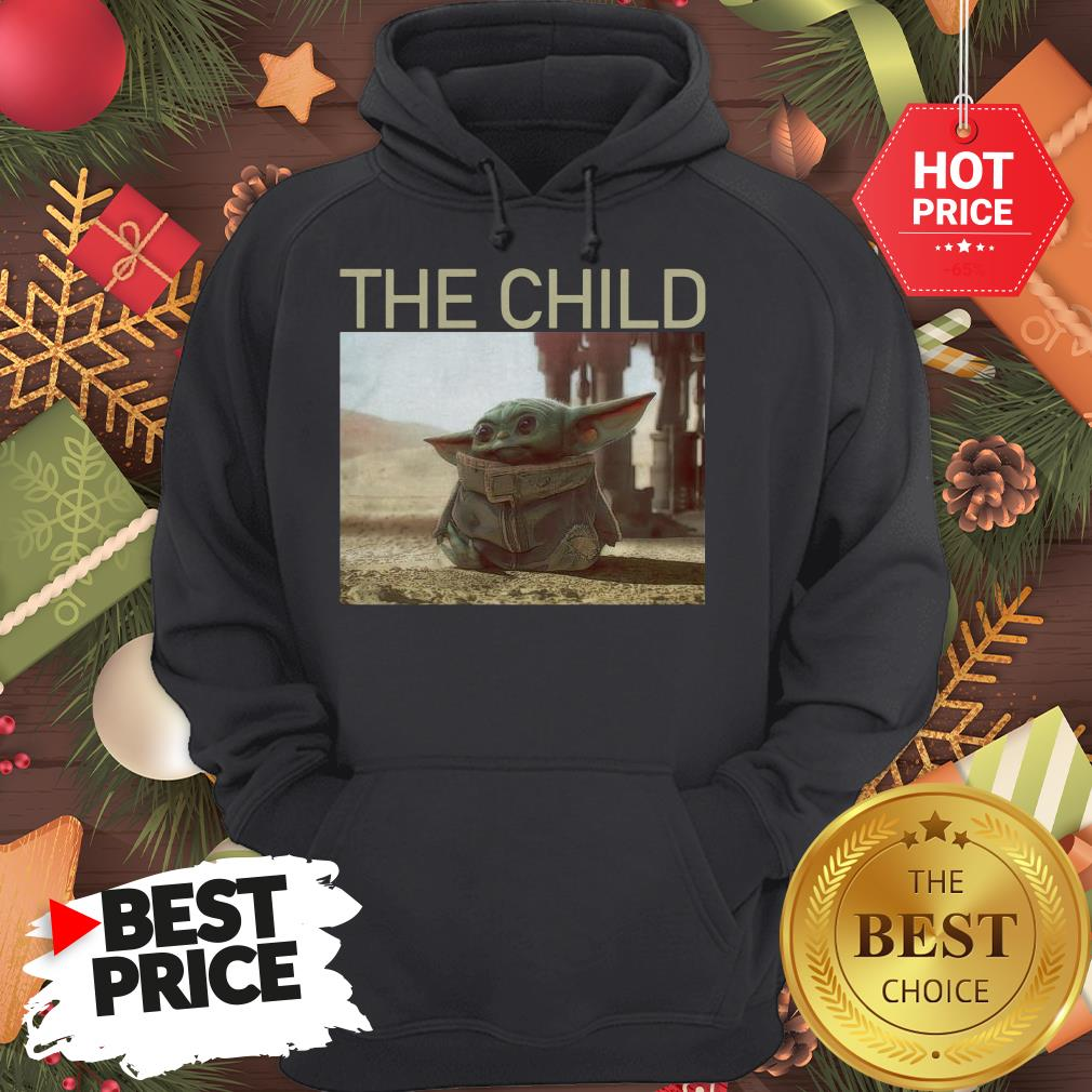 Official Funny The Mandalorian Baby Yoda The Child Hoodie