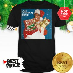 Official George Michael Last Chraistmas Wham Shirt