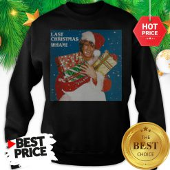 Official George Michael Last Christmas Wham Sweatshirt
