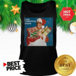 Official George Michael Last Christmas Wham Tank Top