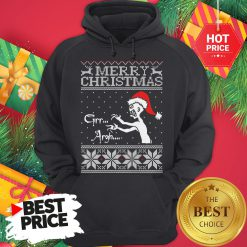 Official Merry Christmas Mutant Enemy Grr Argh Hoodie