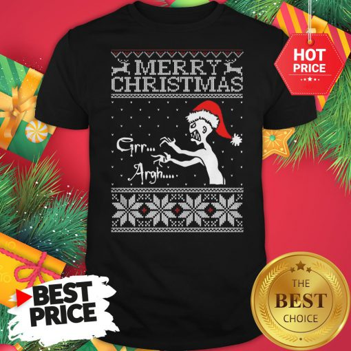 Official Merry Christmas Mutant Enemy Grr Argh Shirt