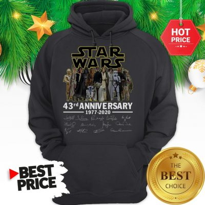 Official Star Wars 43rd Anniversary 1977-2020 Signatures Hoodie