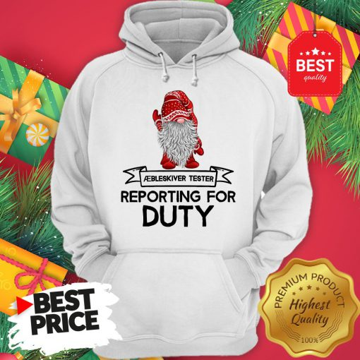 Reporting For Duty Gnomes Christmas Hoodie