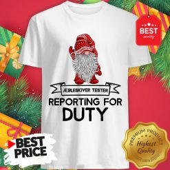 Reporting For Duty Gnomes Christmas Shirt