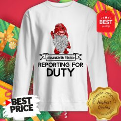 Reporting For Duty Gnomes Christmas Sweatshirt