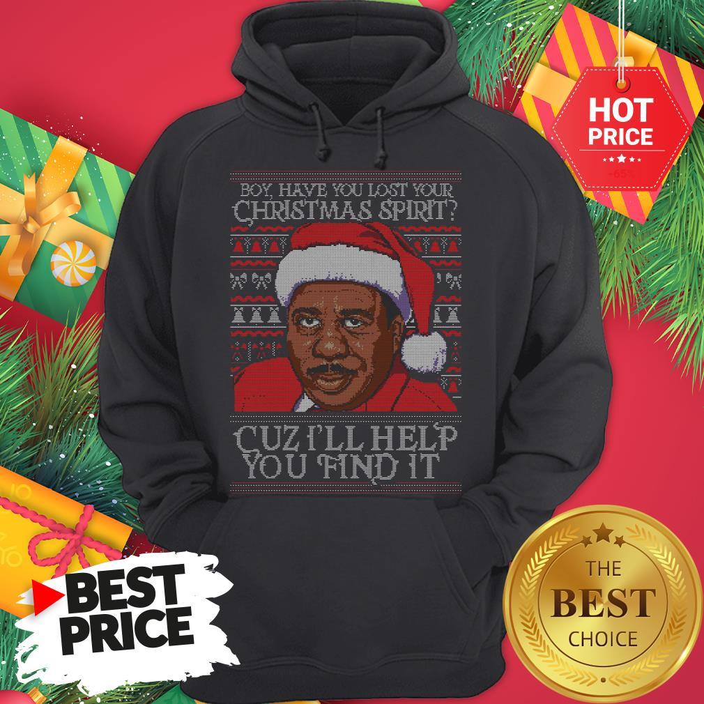 Santa Steve Harvey Boy Have You Lost Your Christmas Spirit Cuz I'll Help You Find It Hoodie