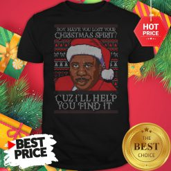 Santa Steve Harvey Boy Have You Lost Your Christmas Spirit Cuz I'll Help You Find It Shirt