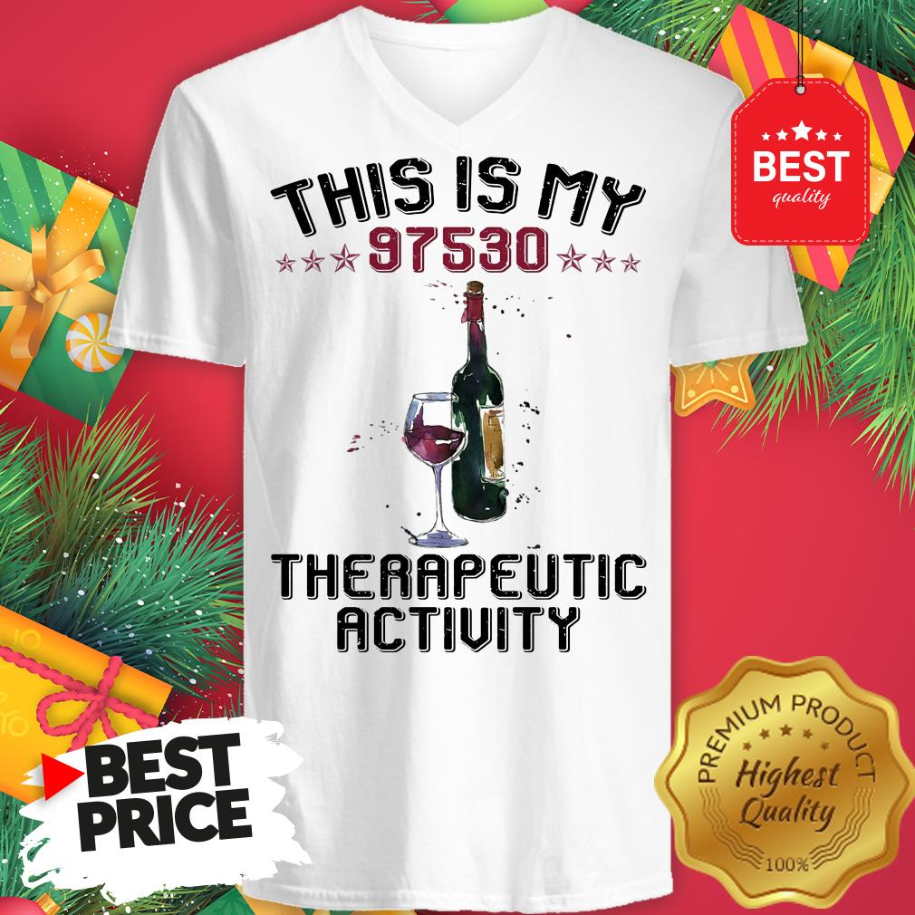 This Is My 97530 Therapeutic Activity V-Neck
