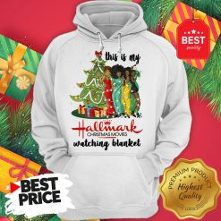 This Is My Hallmark Christmas Movie Watching Blanket Hoodie