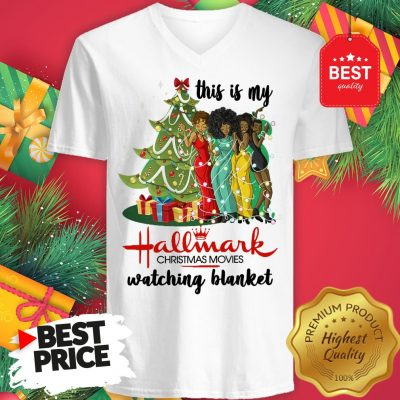 This Is My Hallmark Christmas Movie Watching Blanket V-Neck