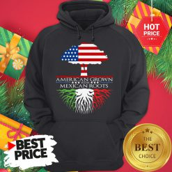 American Grown with Mexican Roots Hoodie