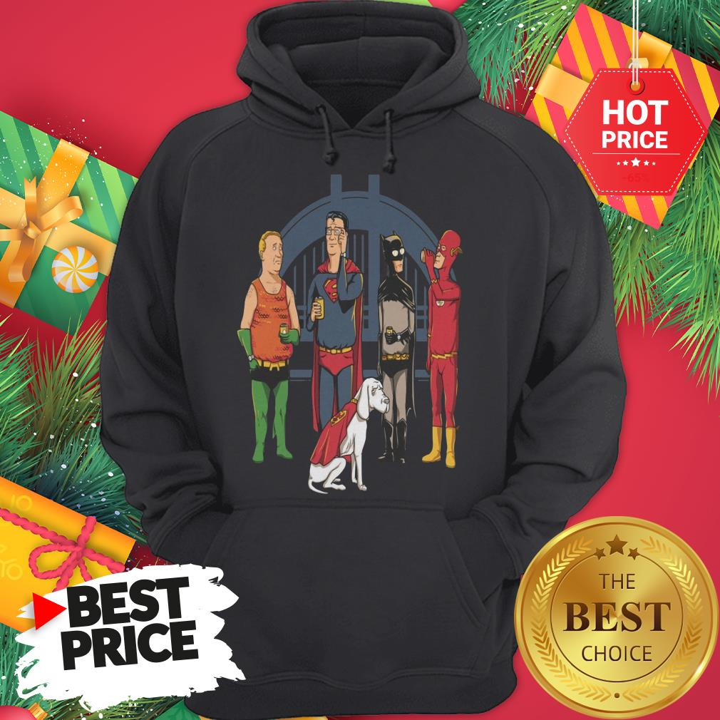 Avengers King Of The Hill Justice League Hoodie