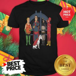 Avengers King Of The Hill Justice League Shirt