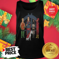 Avengers King Of The Hill Justice League Tank Top