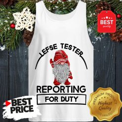 Gnome Lefse Tester Reporting For Duty Tank Top
