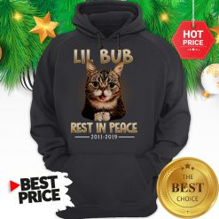 Hashtag Lil Bub Rest In Peace Hoodie