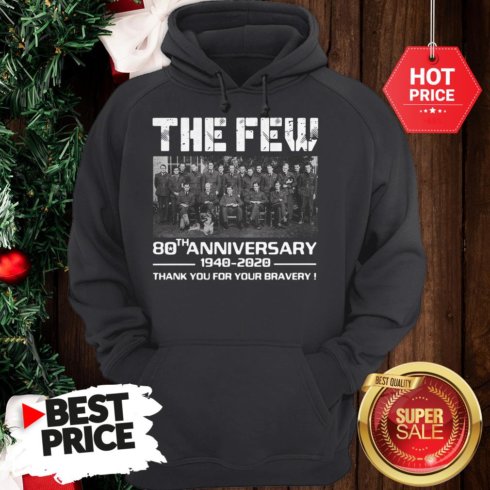Hot Pretty The Few 80th Anniversary Thank You For The Memories Hoodie