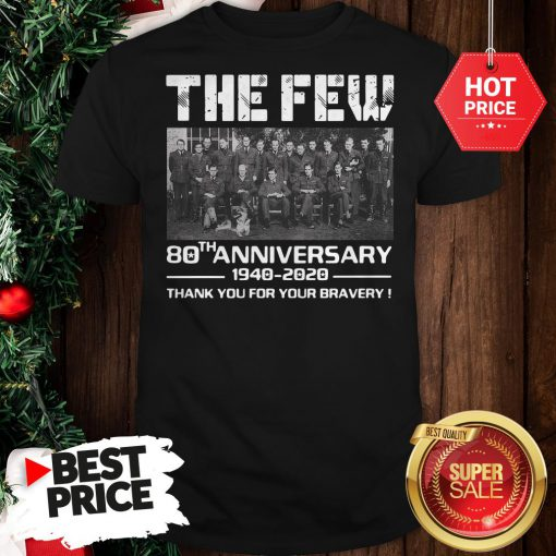 Hot Pretty The Few 80th Anniversary Thank You For The Memories Shirt