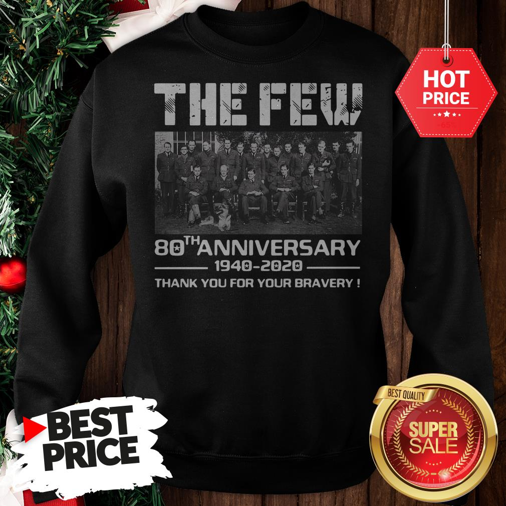 Hot Pretty The Few 80th Anniversary Thank You For The Memories Sweatshirt