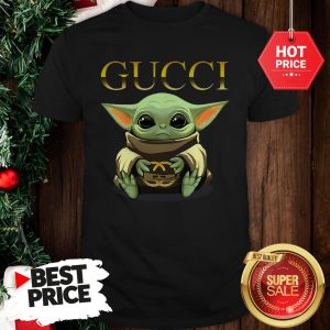 Like Baby Yoda Hug Gucci Shirt
