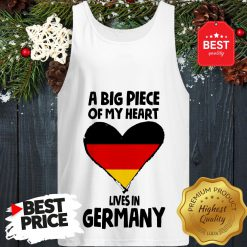 Official A Big Piece Of My Heart Lives In Germany Tank Top