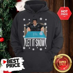 Official A Good Tony Montana Walmart Cocaine Santa Let It Snow Christmas Hoodie