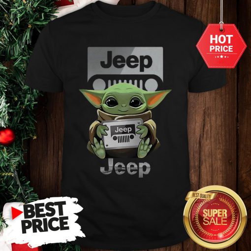 Official Baby Yoda Hug Jeep Shirt