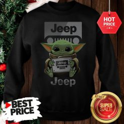 Official Baby Yoda Hug Jeep Sweatshirt