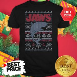 Official Blizzard Bay Shark Ugly Christmas Shirt