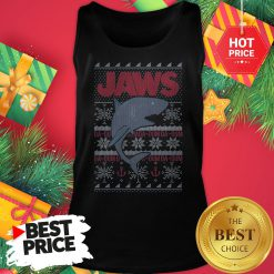 Official Blizzard Bay Shark Ugly Christmas Tank Top