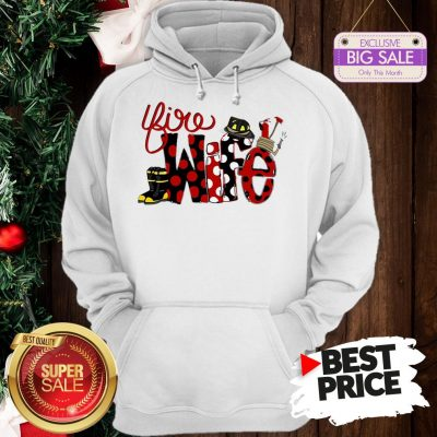 Official Firefighter Fire Wife Hoodie
