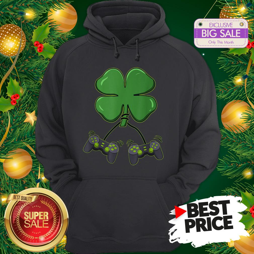 Official Four Leaf Clover Video Game Controllers Hoodie