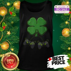 Official Four Leaf Clover Video Game Controllers TankTop