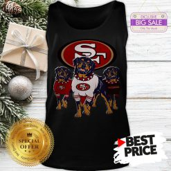 Official Funny Rottweiler Dogs San Francisco 49ers Tank Top