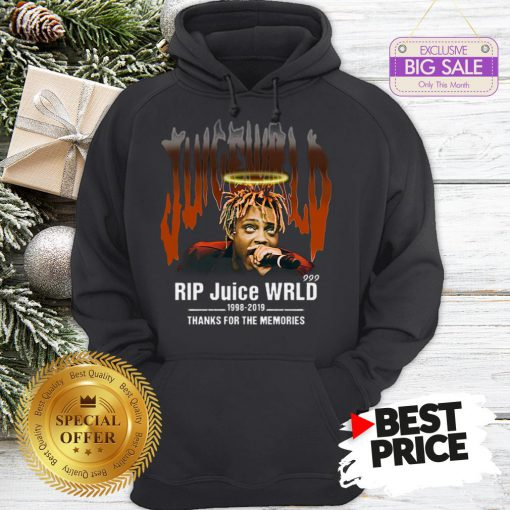 Official Hot Rip Juice WRLD 1998 2019 Thanks For The Memories Hoodie
