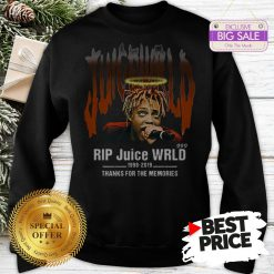 Official Hot Rip Juice WRLD 1998 2019 Thanks For The Memories Sweatshirt