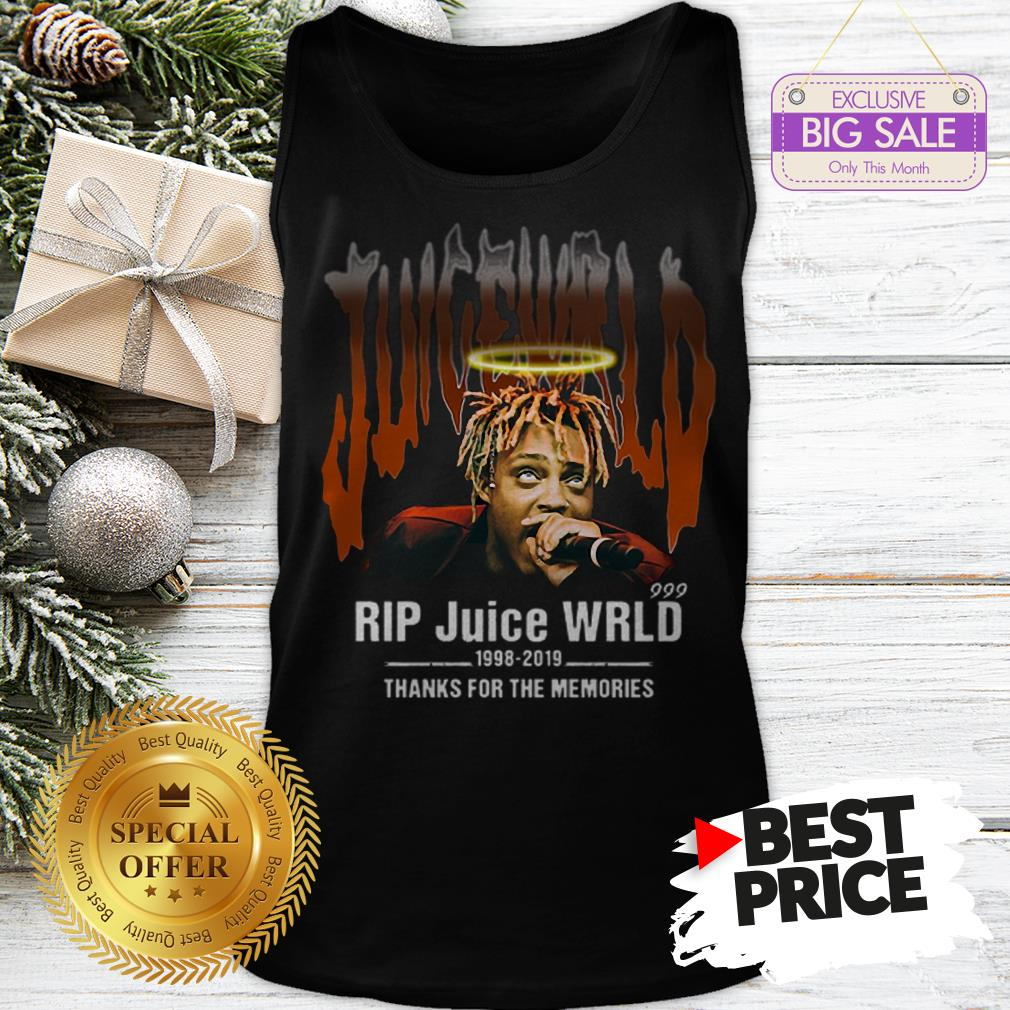 Official Hot Rip Juice WRLD 1998 2019 Thanks For The Memories Tank Top