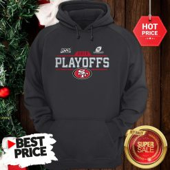 Official Hot San Francisco 49ers 2019 100 NFL Playoffs Hoodie
