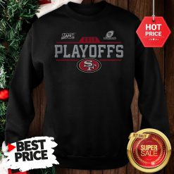 Official Hot San Francisco 49ers 2019 100 NFL Playoffs Sweatshirt