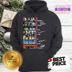 Official Hot The Beatles Blackbird Abbey Road Let It Be All Signature Hoodie